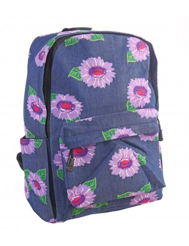 """Рюкзак женский на молнии """"Цветы"""""""