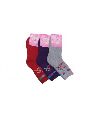 Носки подростковые для девочки НД-117