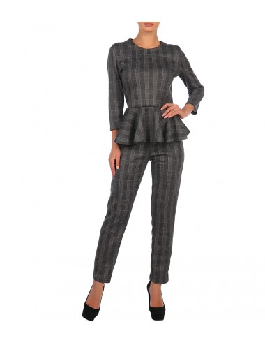 Блуза женская с воланом по низу К86515-17/05.2(1)
