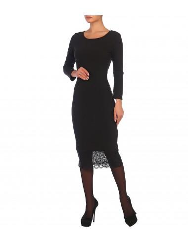 Платье женское с кружевом по низу П85514 от Comfi