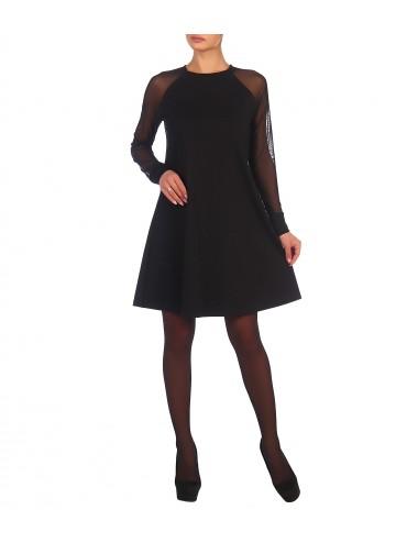 Платье женское с рукавами реглан из сетки на манжете П89517-06 от Comfi
