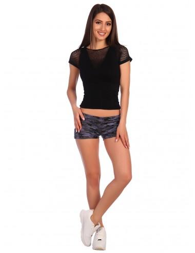 Шорты женские камуфляж фиолетовый Ш61136-12.15 от Comfi