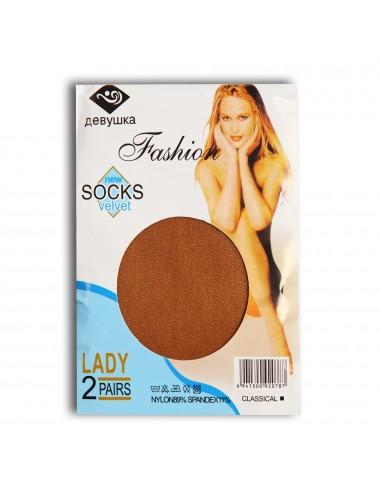 "Носки капроновые ""Fashion socks""  КЖ-010"