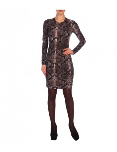 SALE Платье женское на обтачке питон от Comfi