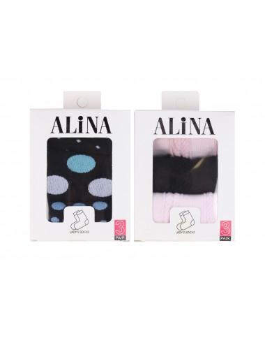 "Носки женские в коробке ""Алина"""