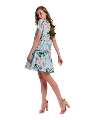 SALE Платье из штапеля
