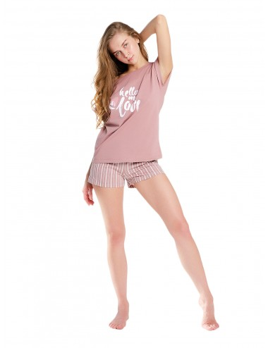 Костюм Hello my love: футболка и шорты
