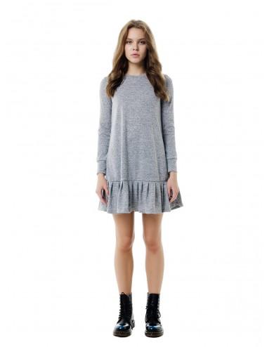 Платье женское с оборой по низу от Comfi
