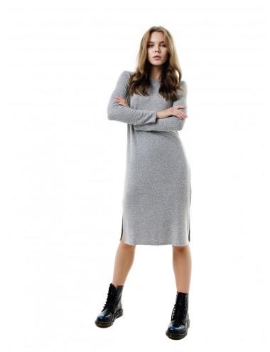 Платье женское на обтачке с разрезами от Comfi