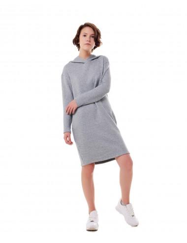 SALE Платье женское с капюшоном