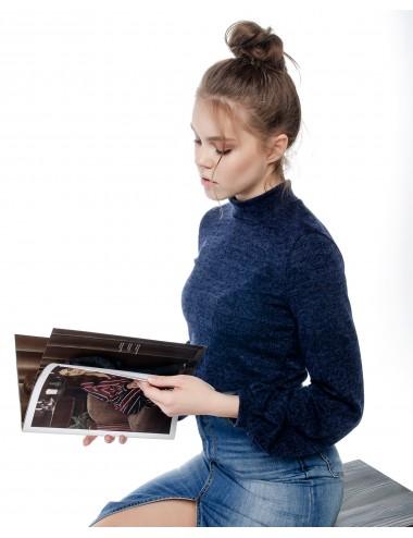 Водолазка женская с объемными рукавами от Comfi