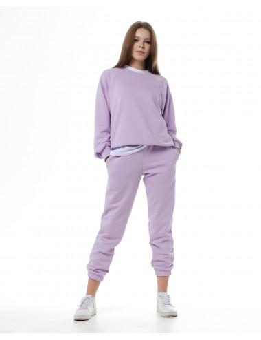 Костюм Лаванда: брюки + свитшот