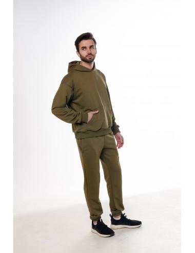 Костюм мужской: худи + брюки МАРТИНИ ОЛИВА