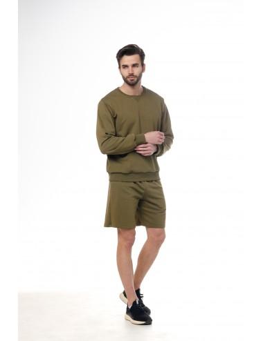 Костюм мужской: свитшот + шорты МАРТИНИ ОЛИВА