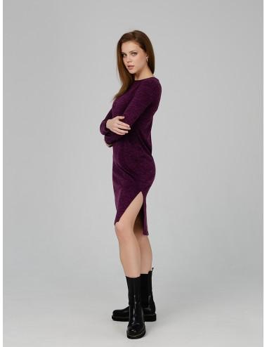Платье женское на обтачке с разрезами