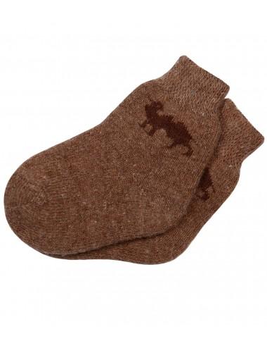 Носки детские из верблюжьей шерсти НДЗ-044