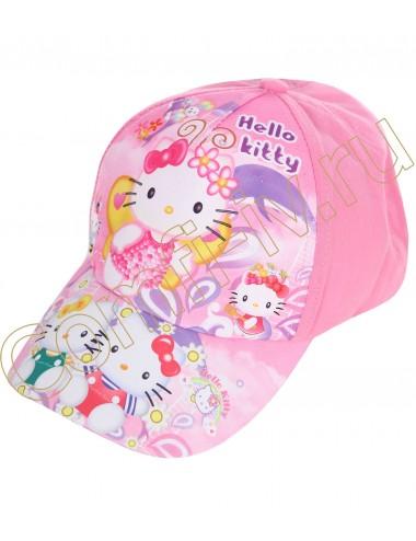 "Бейсболка детская ""Hello Kitty № 1"""